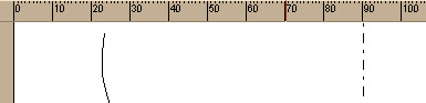 Ruler to aid scaling your woodturning